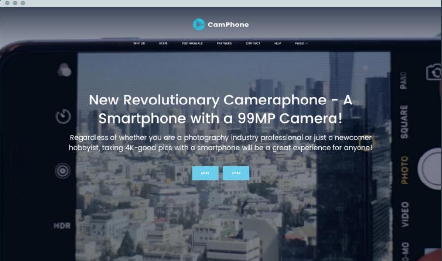 CamPhone Digital Products WordPress Themes