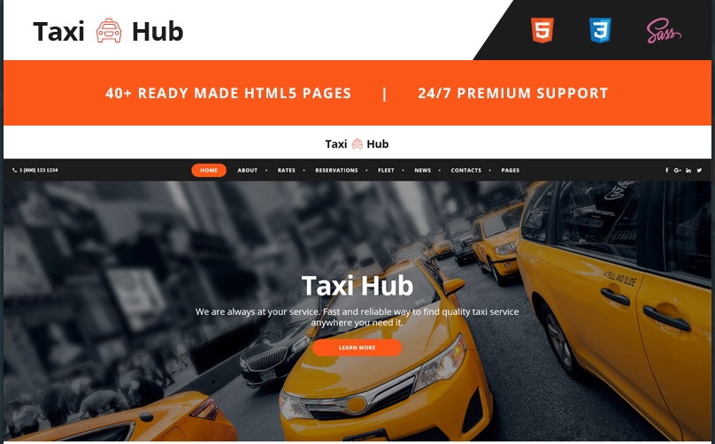 Bootstrap HTML5 Website Templates