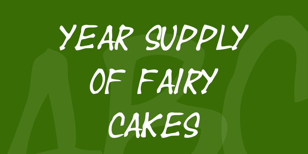 Year supply of fairy cakes by Pizzadude
