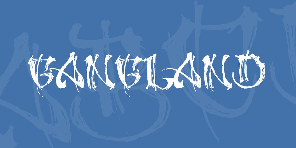 Gangland by Billy Argel