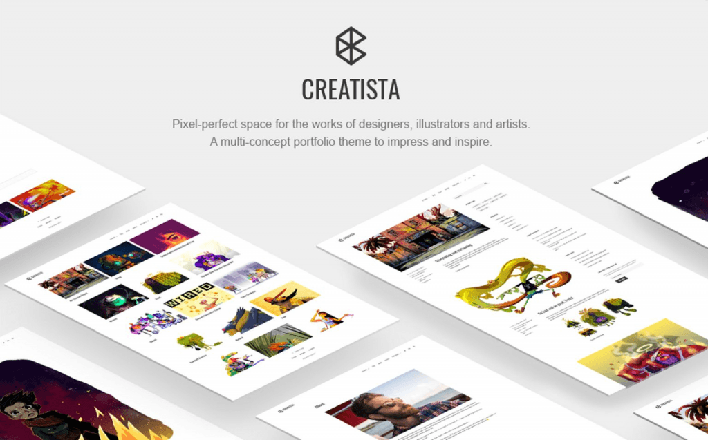 Best Wordpress Themes For Artists 2019