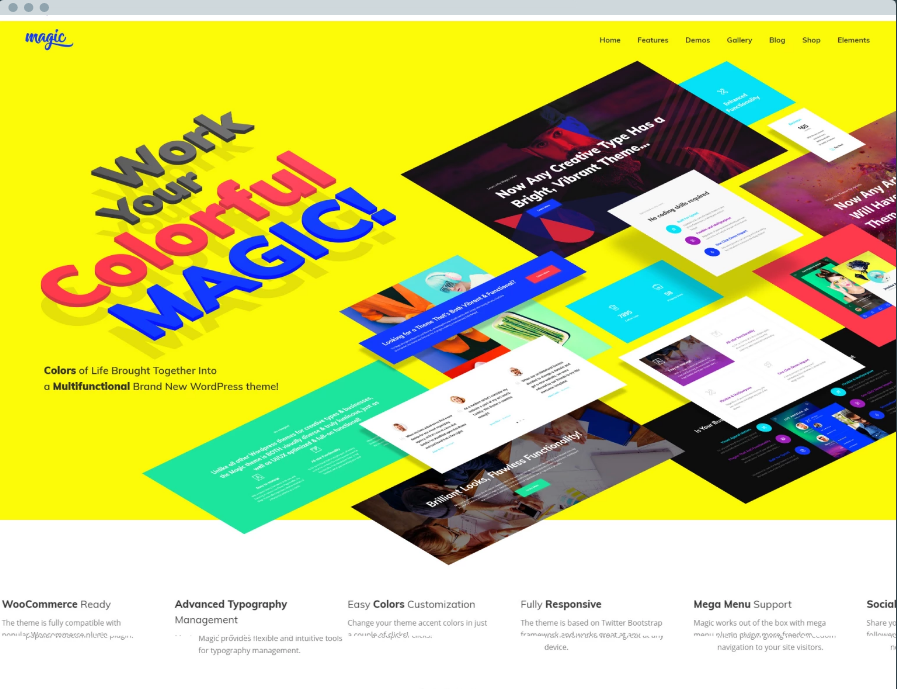 Magic Digital Products WordPress Themes