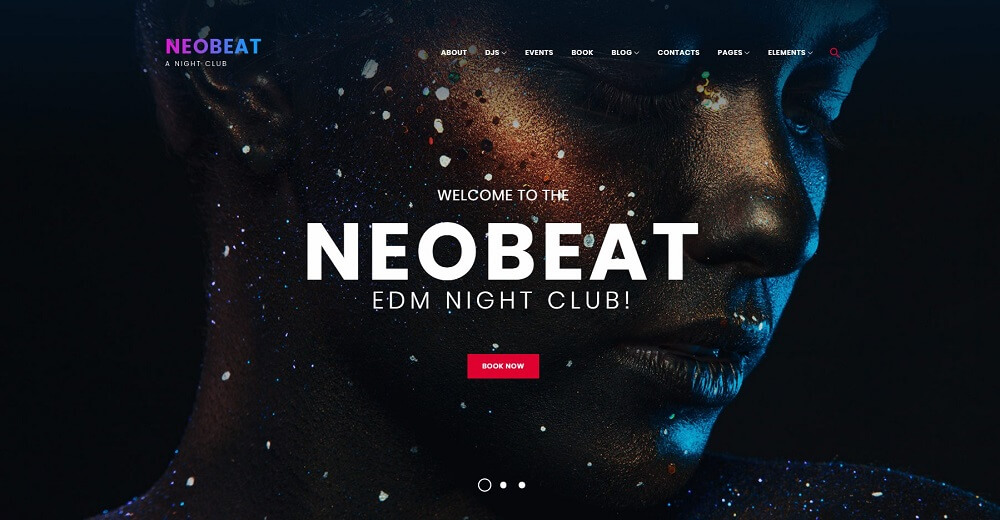 Neobeat - Night Club & Entertainment WordPress Theme