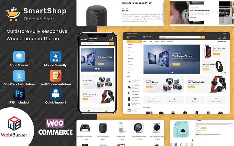 Fully Responsive SmartShopWooCommerce Theme