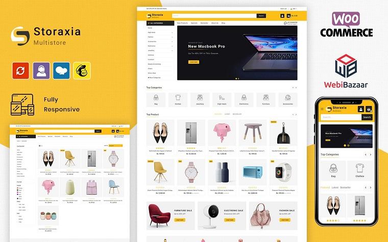 Fashionable Storaxia WooCommerce Theme