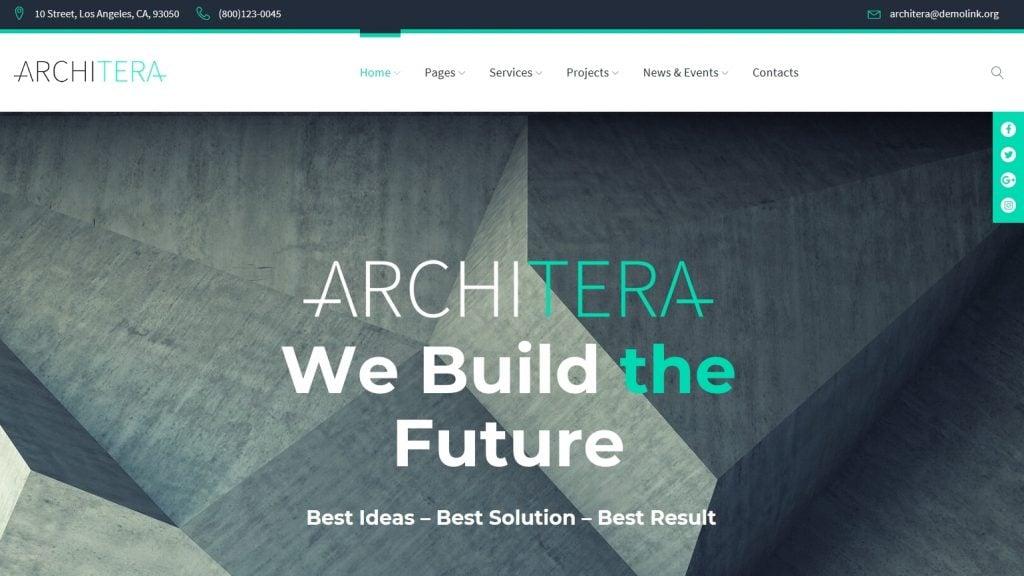 Architera - Architecture Firm Responsive WordPress Theme