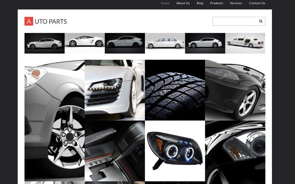 Auto Parts Responsive WordPress Theme