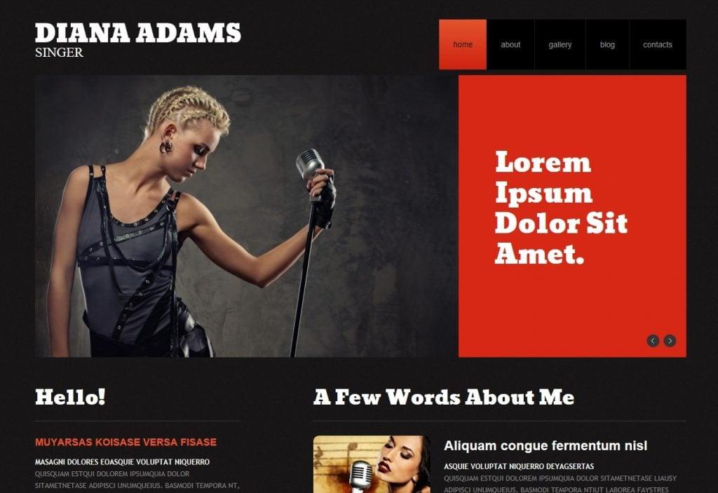 Singer Responsive WordPress Theme