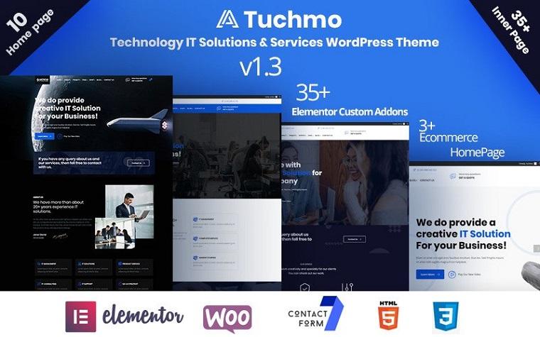 Premium Tuchmo IT Services WooCommerce Theme
