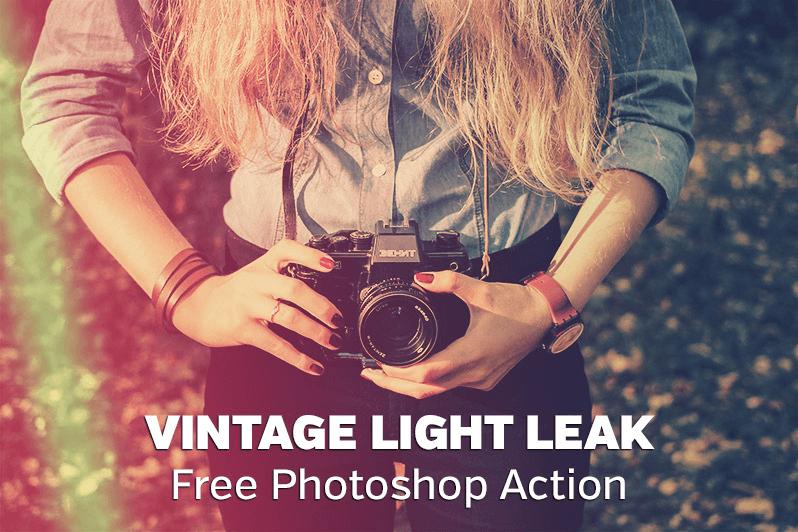 Vintage Light Leak