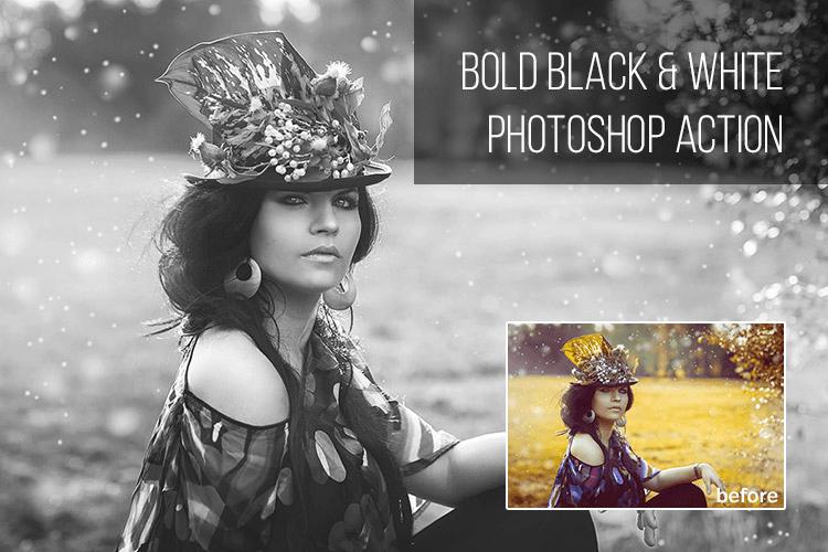 Bold Black & White