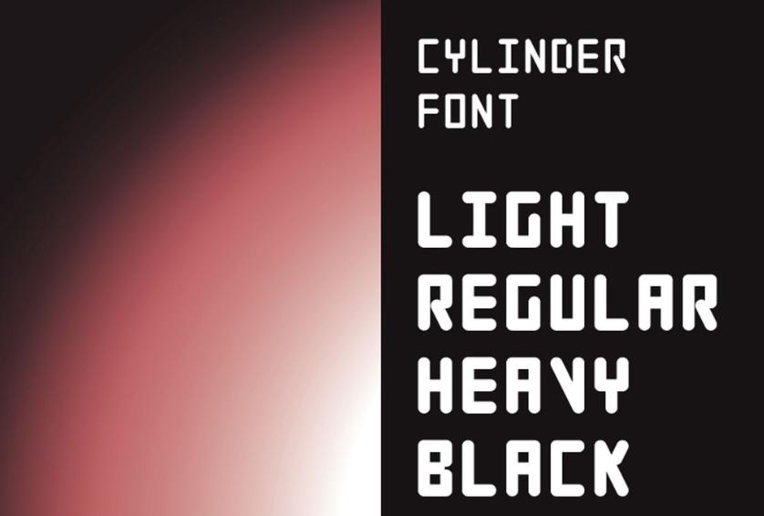 big bold fonts