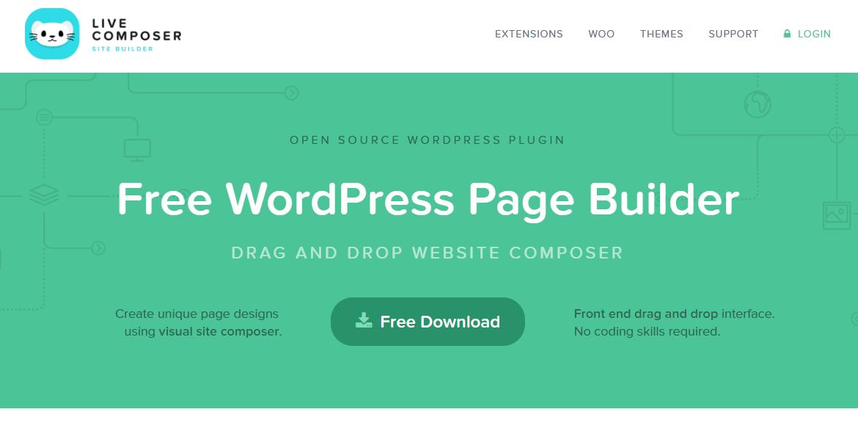pagebuilder wordpress