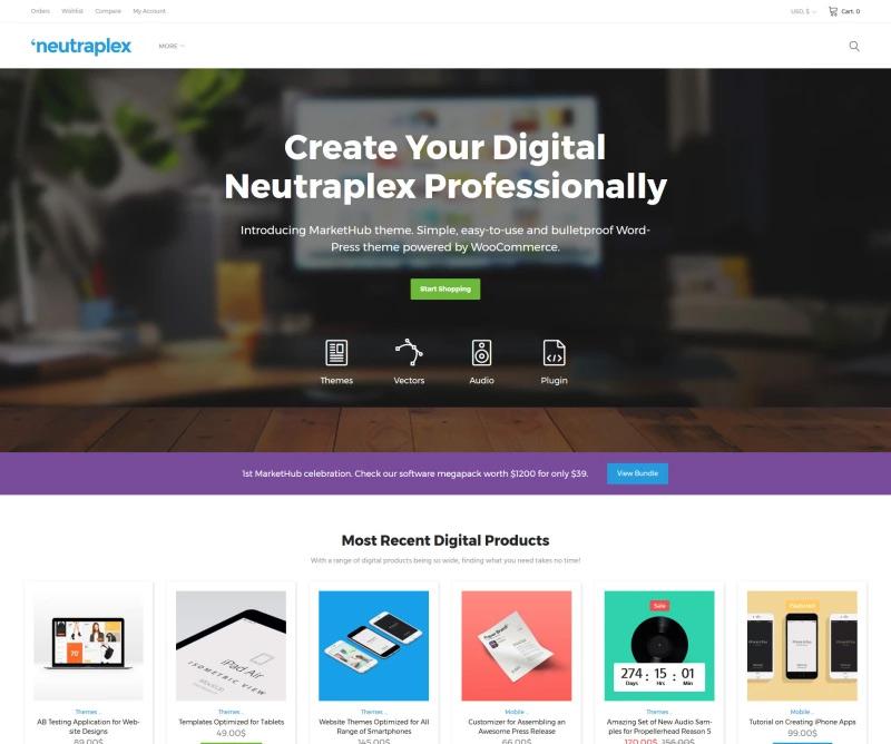 Neutraplex - Electronics WooCommerce Theme