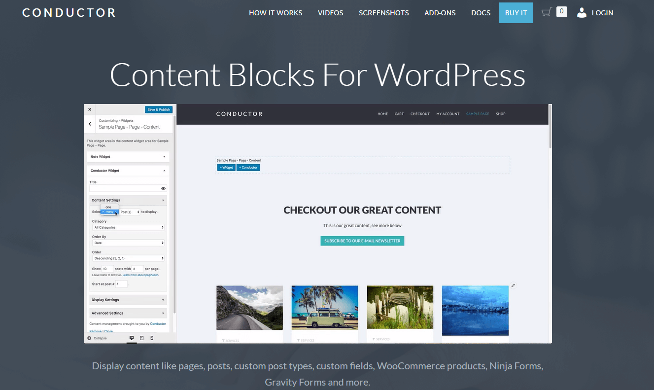 wordpress theme builders