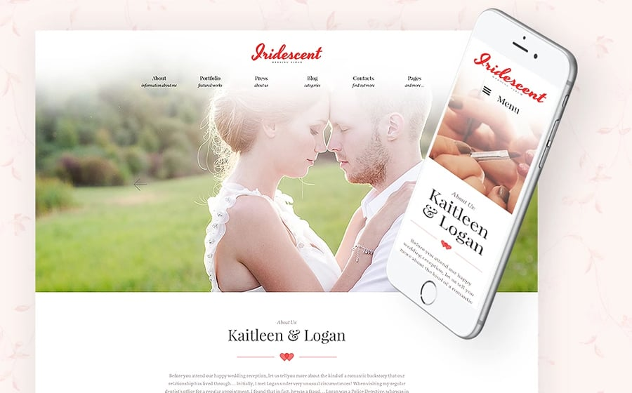 Wedding Album Lite Free WP Theme