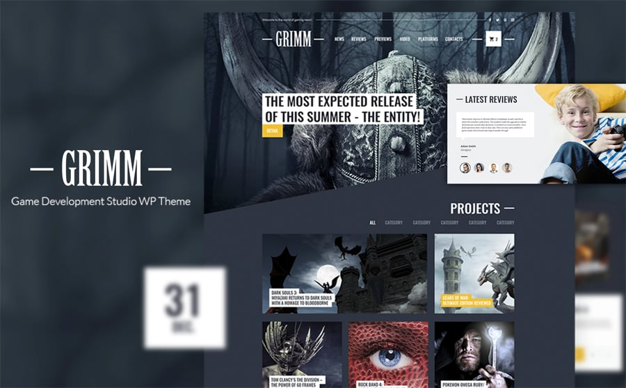 Game Development Studio Free WP Theme