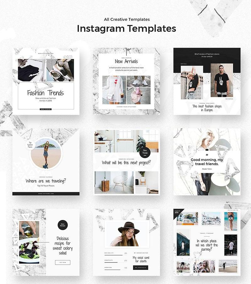 Triangles-instagram-theme