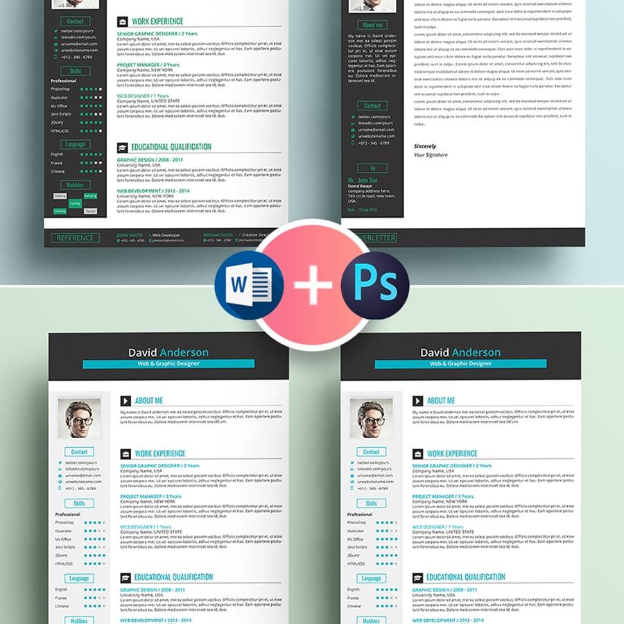 Web & Graphic Designer Resume Template