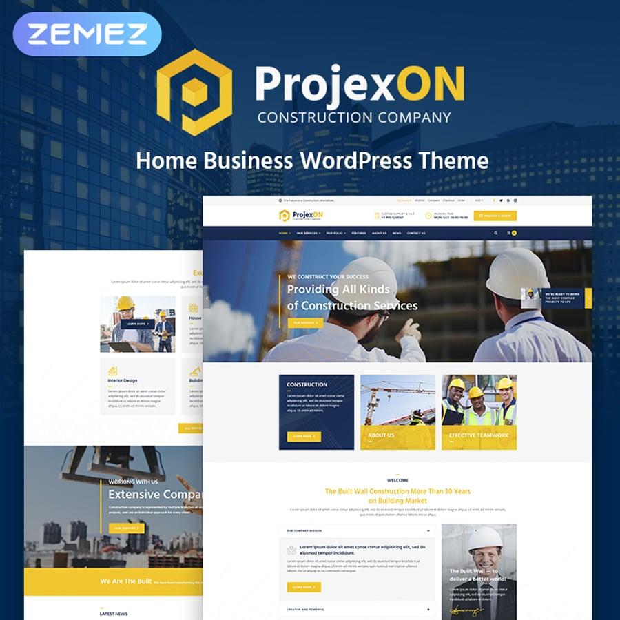 Bright Construction Company WordPress Theme