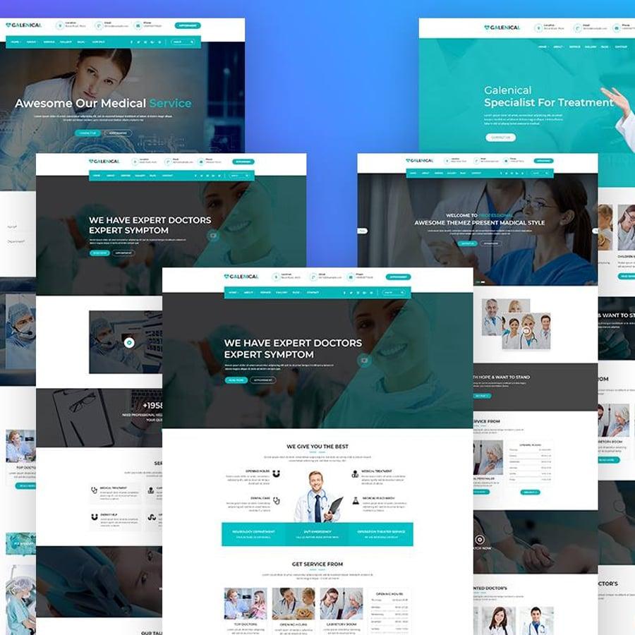 Medical & Health Service WordPress Theme