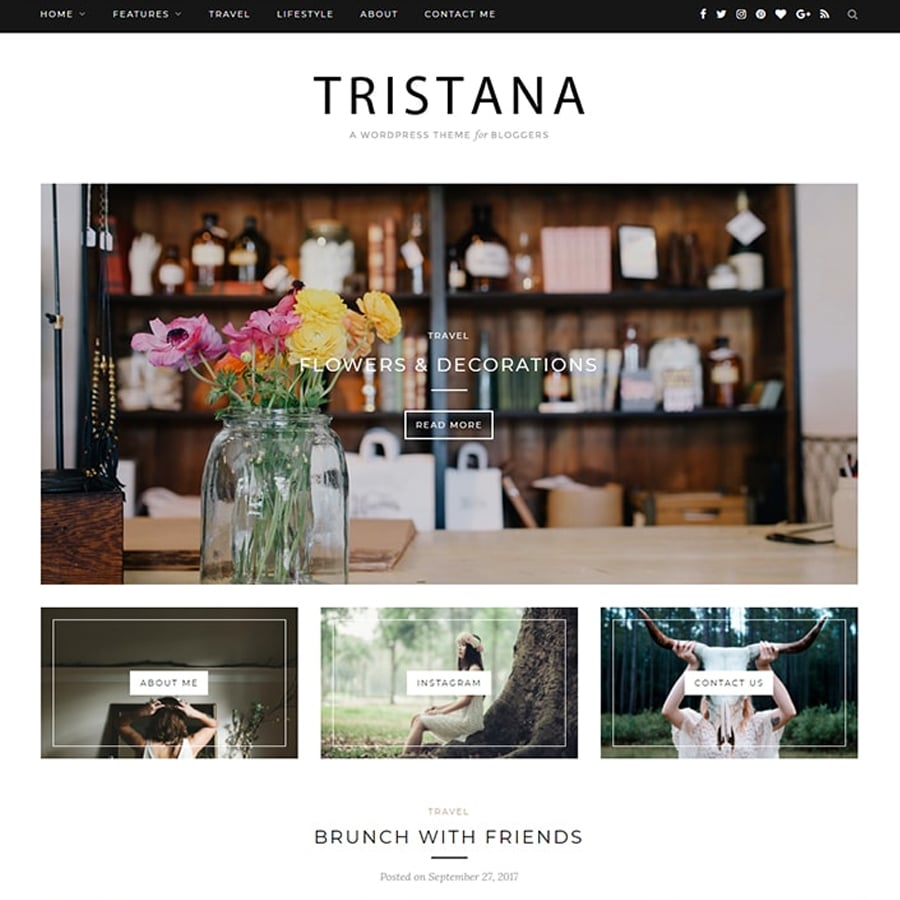 Blog Responsive WordPress Theme