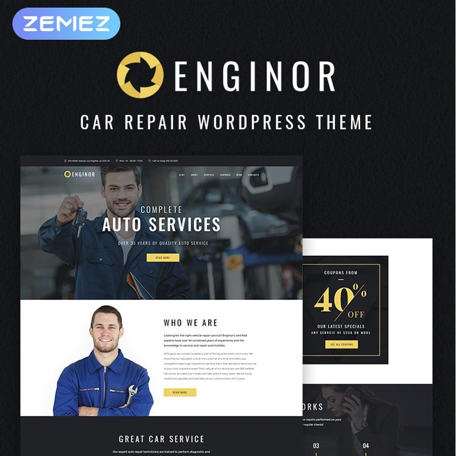 Tuning Service WordPress Theme