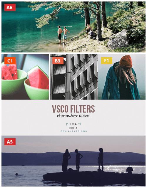 VSCO 5 Filters (ATN)