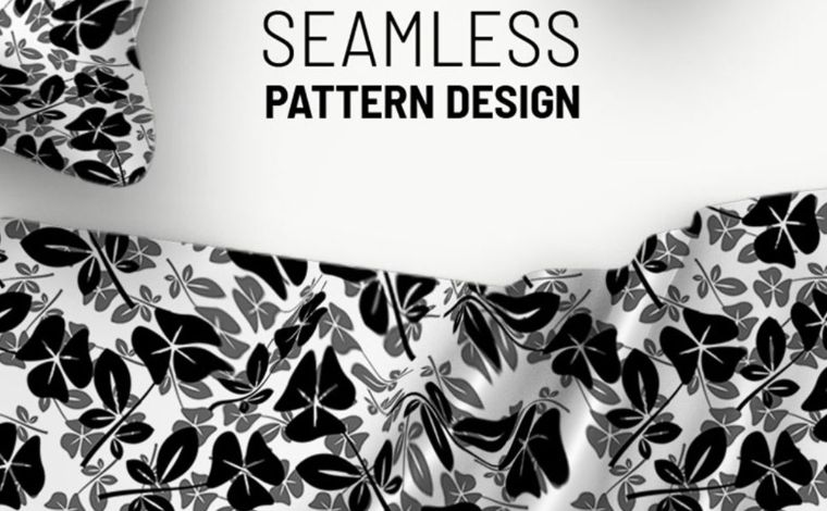Abstract flowers and seamless design Pattern