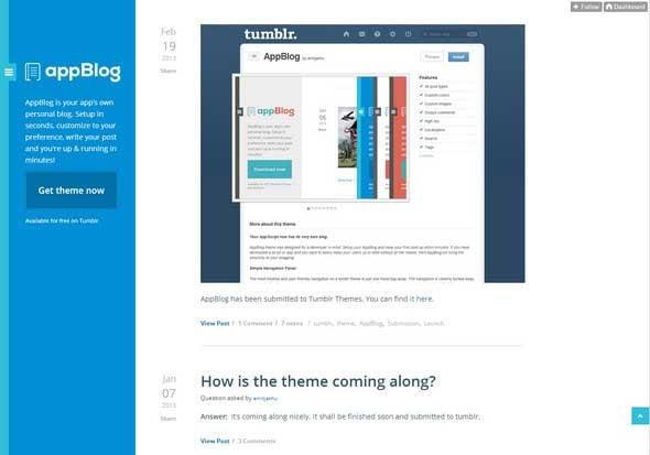 AppBlog Theme