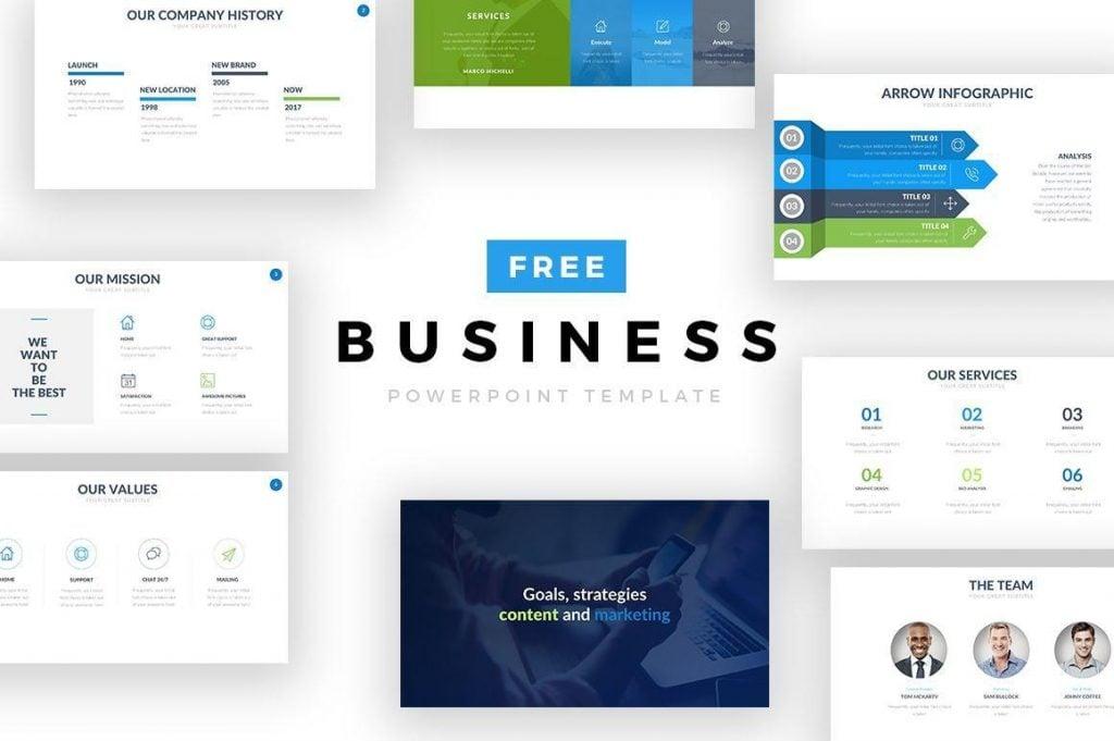 Business Free Keynote