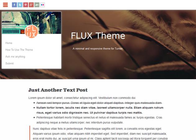 FLUX Theme