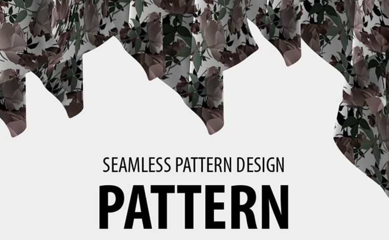 Retro beautiful seamless floral design Pattern