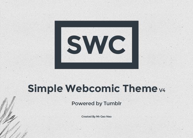 Simple Webcomic Theme