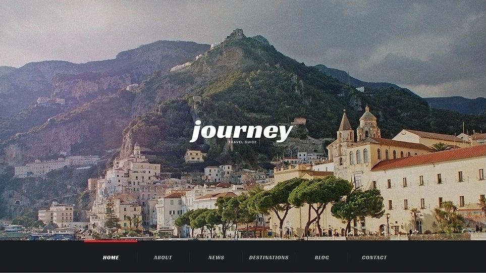 Journey - Travel Agency Responsive WordPress Theme