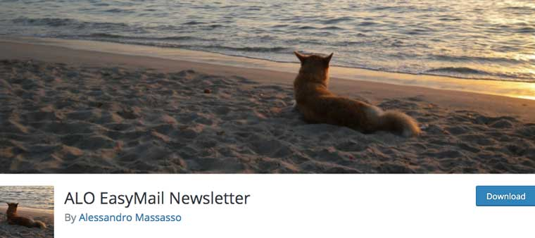 ALO EasyMail Newsletter plugin.