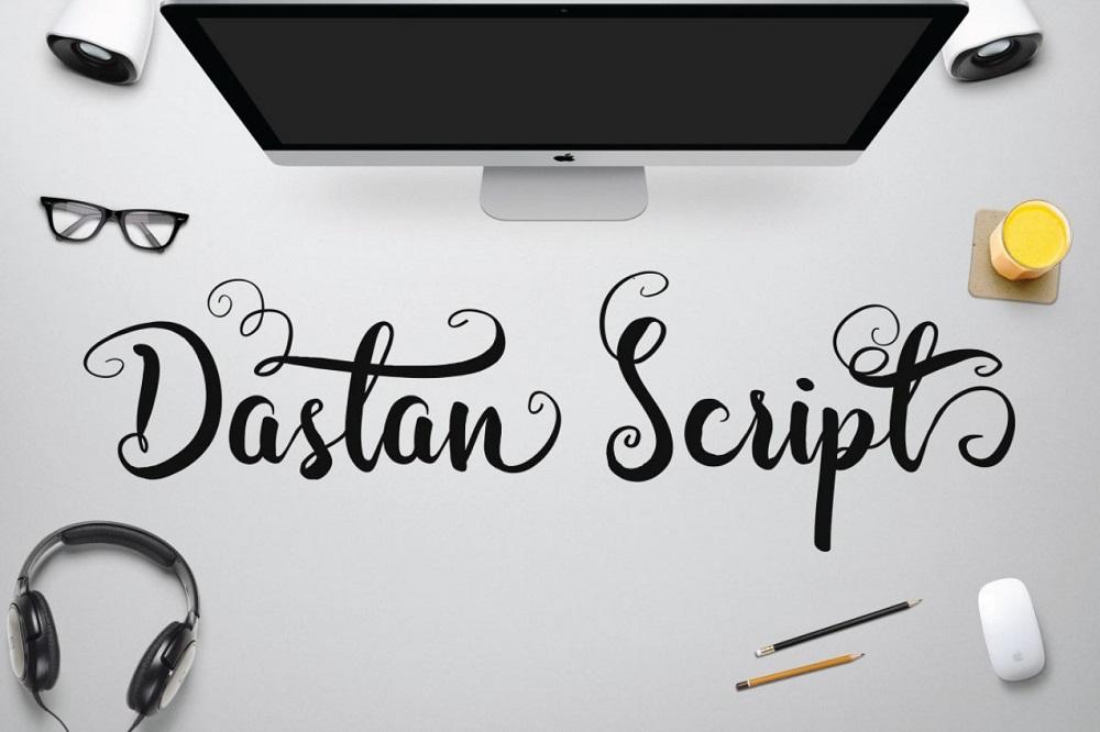 Dastan Script Font