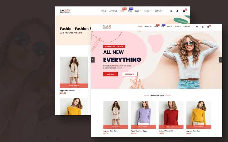 Fashion Store Joomla Template
