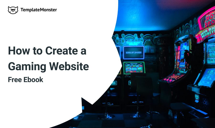 create gaming website