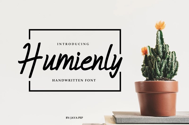Humienly Font