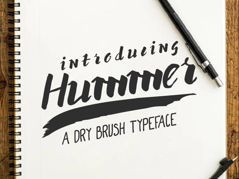 Hummer Font