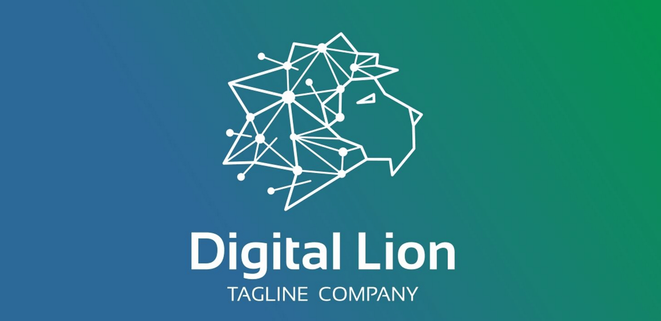 Digital Lion - Logo Template