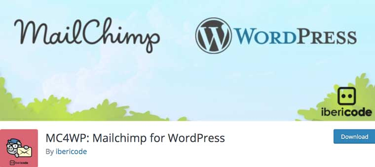 MC4WP: Mailchimp for WordPress.