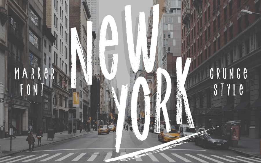 New York font! Font