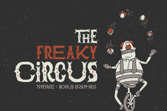 The Freaky Circus Font