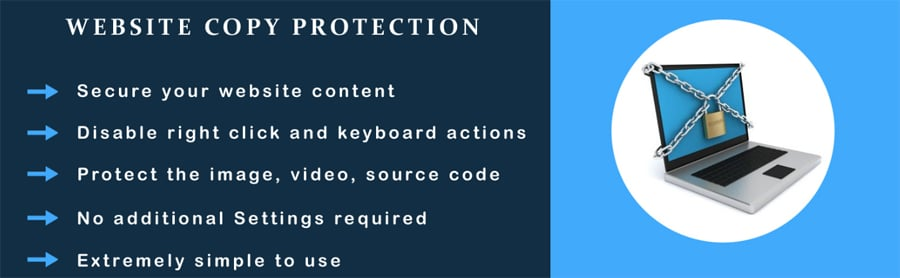 Website Copy Protection
