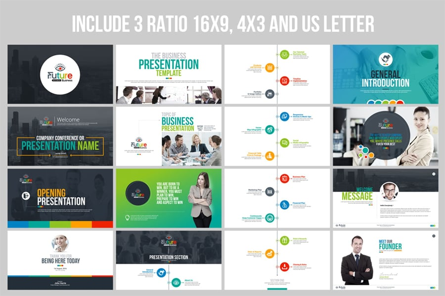 100 Best Business Presentation Templates 2019 Cool Great