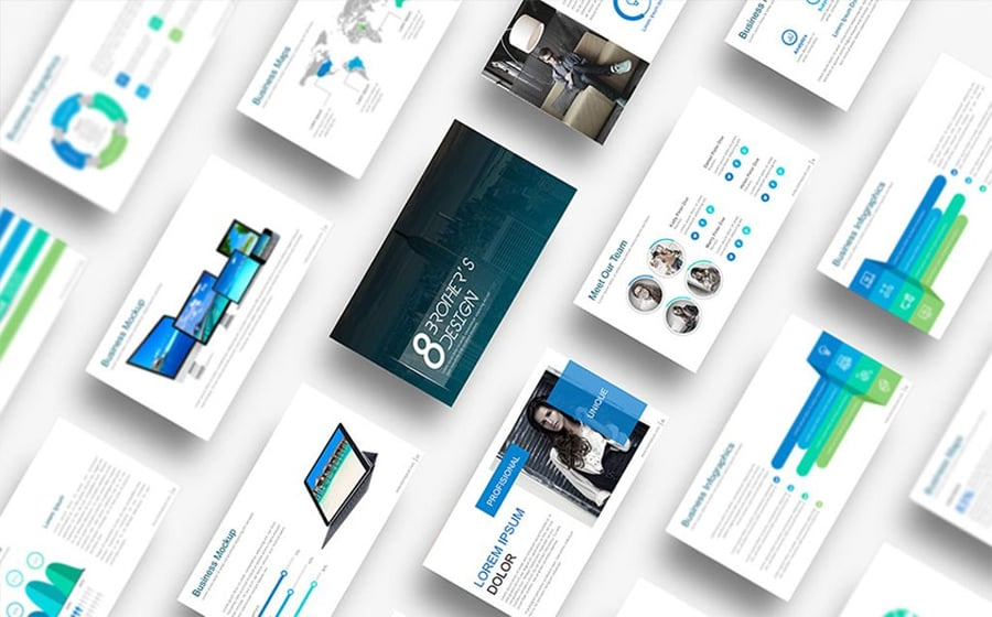 100 Best Business Presentation Templates 2019  Cool! Great! Awesome!