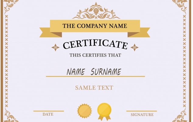 50 Multipurpose Certificate Templates And Award Designs For