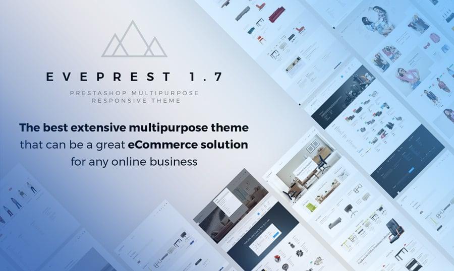 Eveprest - Multipurpose Website Template